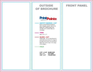 85 x 11 trifold template